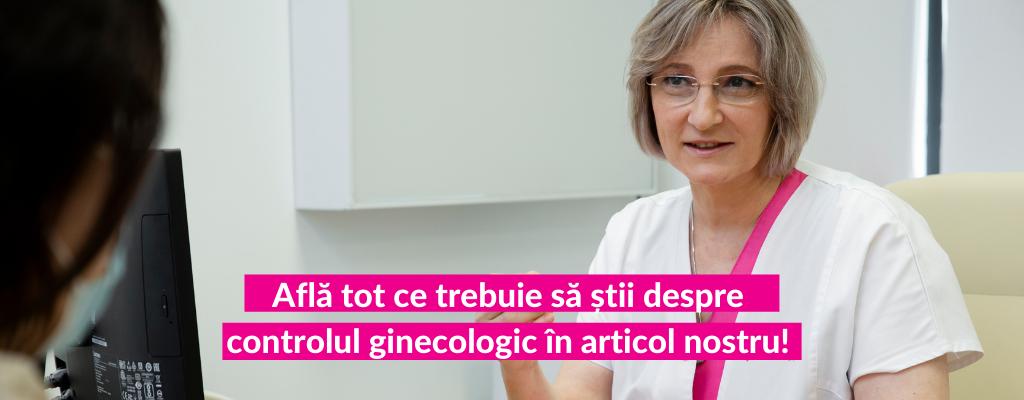 Control ginecologic - Consultatie ginecologica