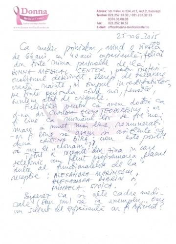 Dr. Antoneta, 25.05.2015