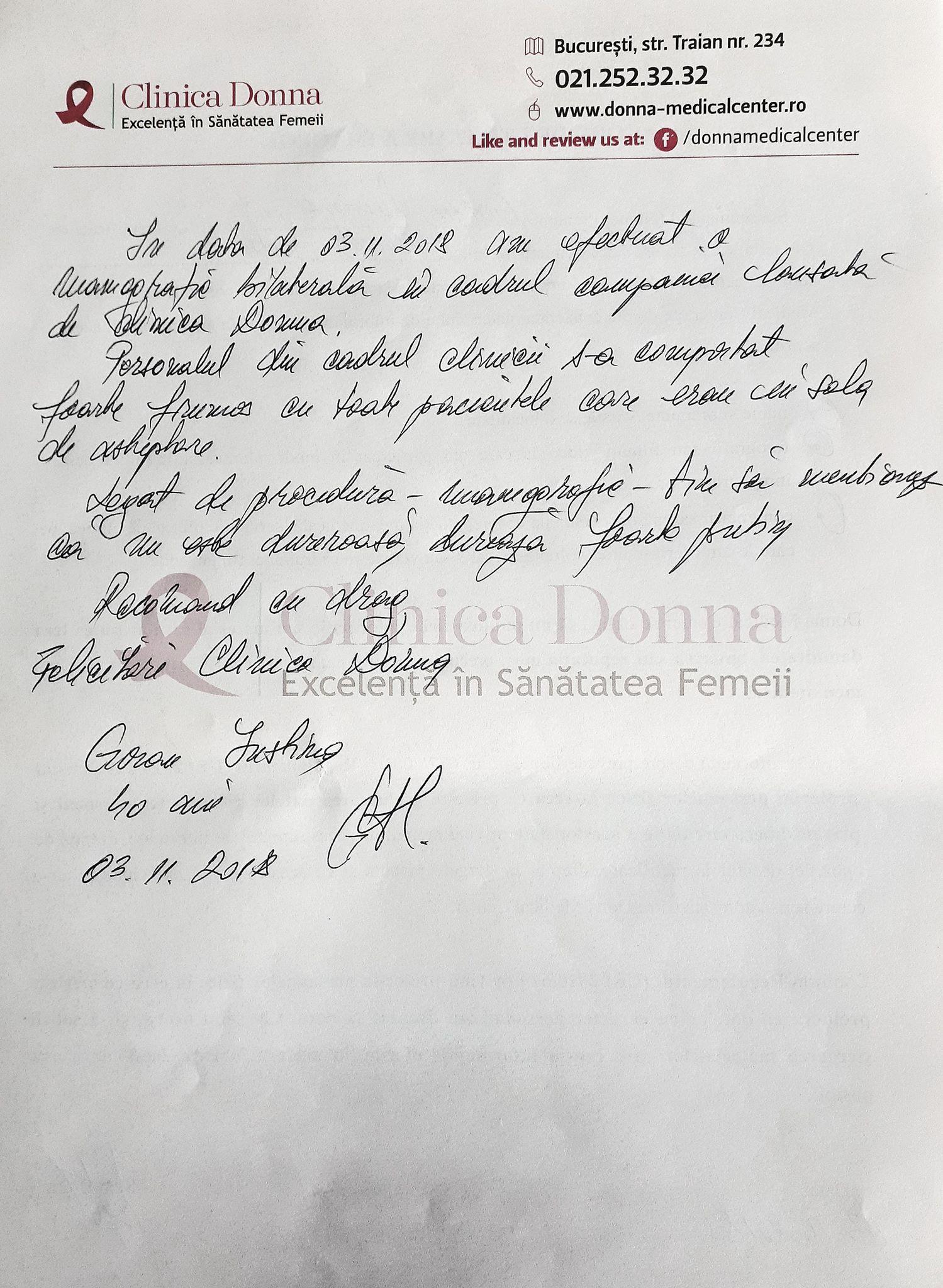 """Goran Iustina, Campania socială """"Ziua Șanselor la Viață"""", 03.11.2018"""