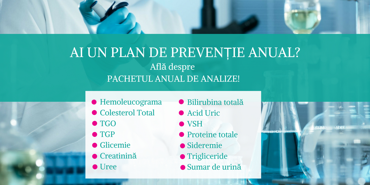 Pachet anual analize